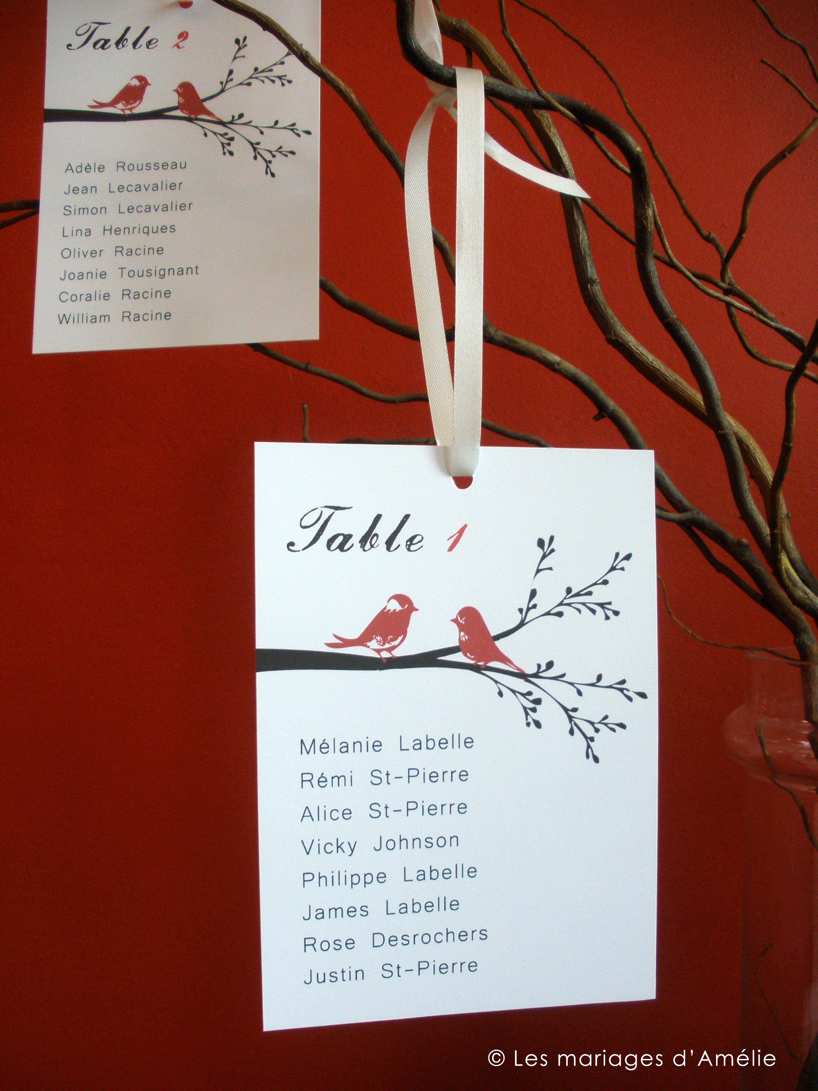 Fabuleux Des branches pour le plan de tables | Les mariages d'Amélie SF42